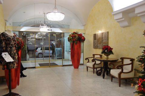 Erzherzog-Johann-Palais-Hotelエントランス