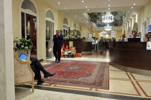 Erzherzog-Johann-Palais-Hotelレセプション