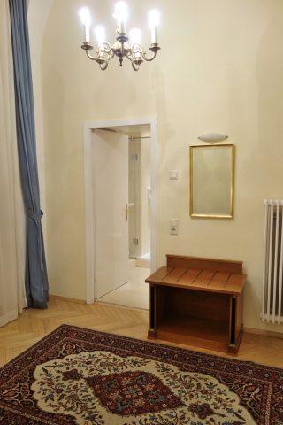 Erzherzog-Johann-Palais-Hotelのシャワールーム入口