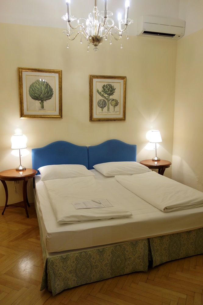 Erzherzog-Johann-Palais-Hotelベッドルーム