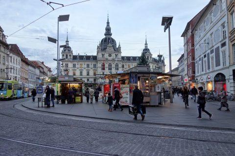 グラーツ中央広場・世界遺産