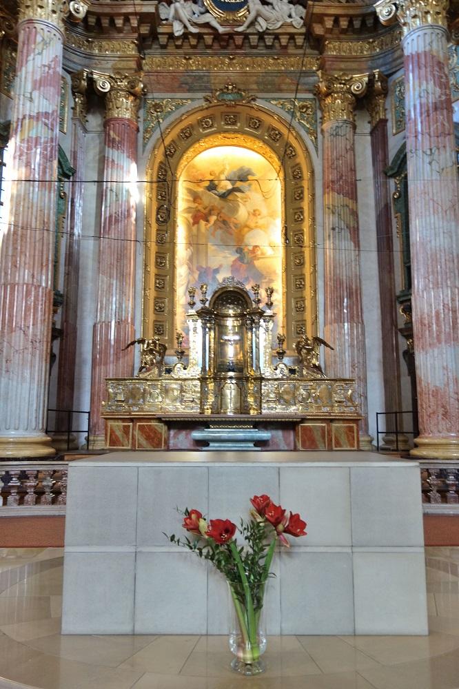 イエズス会教会ウィーンの祭壇