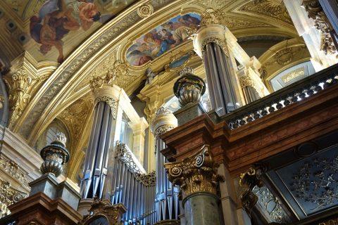 イエズス会教会ウィーンのオルガンの歴史