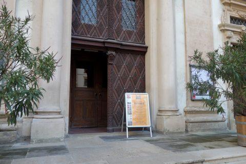 イエズス会教会ウィーンの開館時間