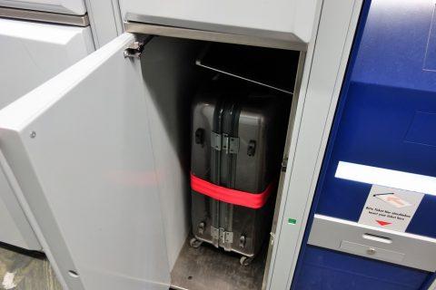スーツケース/ウィーン中央駅のコインロッカー