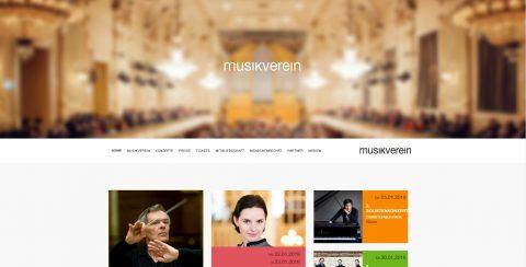 Musikverein-Grazホームページ