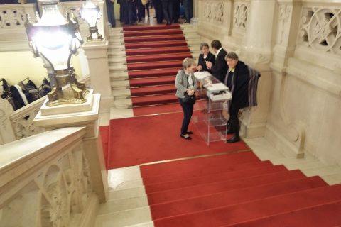 グラーツ楽友協会の大階段