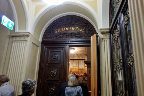 グラーツ楽友協会の客席への扉
