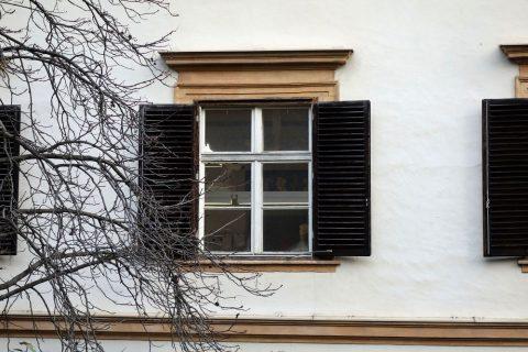 エッゲンベルク城の窓は365
