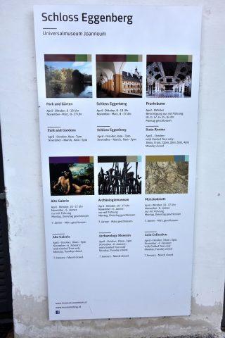 エッゲンベルク城の開館時間