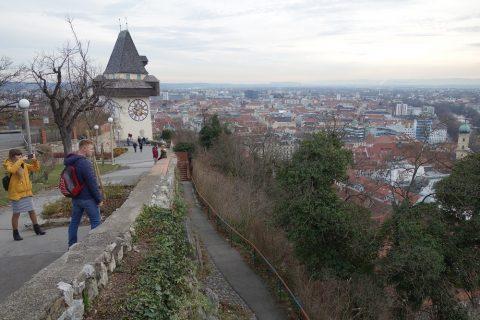 Schlossberg-grazからの眺め