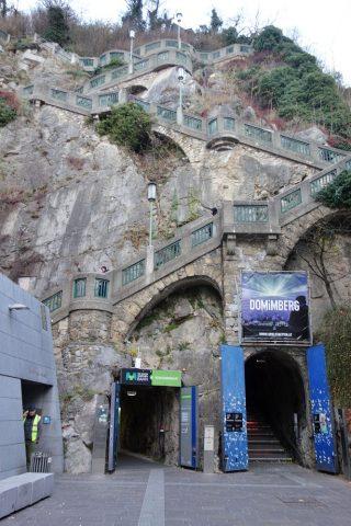 Schlossberg-grazエレベーター乗り場