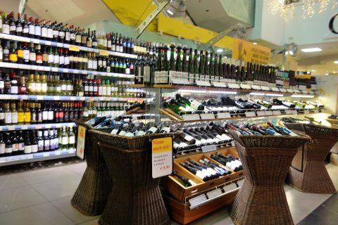 billa-grazワインの品揃え