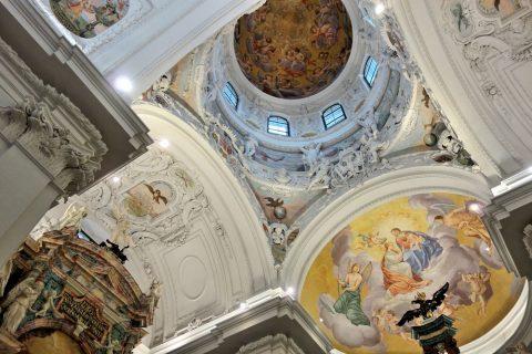 mausoleum-graz天井のフレスコ画