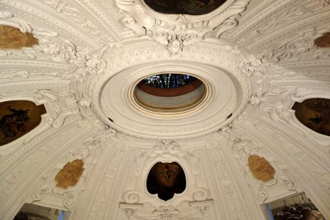 mausoleum-graz地下室の屋根