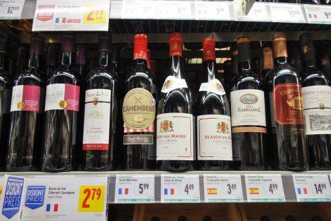 ヨーロッパの安いワイン