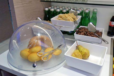 グラーツ中央駅OBBラウンジの軽食