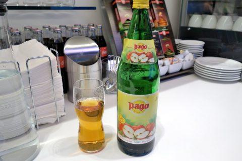 PAGOのアップルジュース