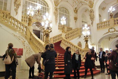 グラーツ歌劇場の大階段