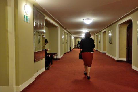 グラーツ歌劇場の客席入口