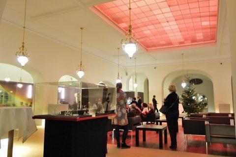 グラーツ歌劇場最上階のカフェレストラン