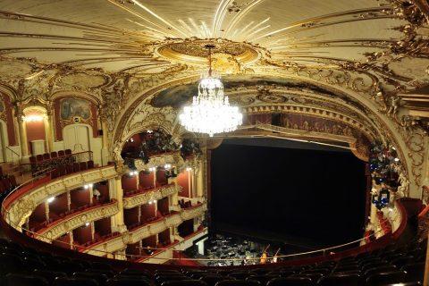 グラーツ歌劇場のシャンデリア