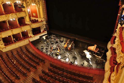 グラーツ歌劇場のオーケストラピット
