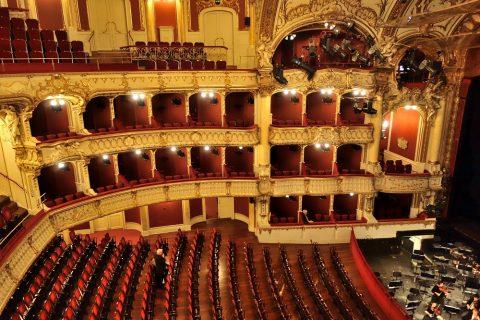 グラーツ歌劇場のボックス席