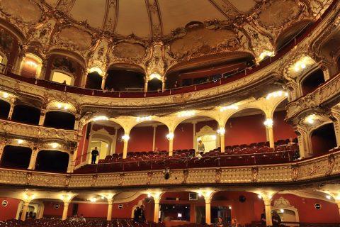 グラーツ歌劇場の上階