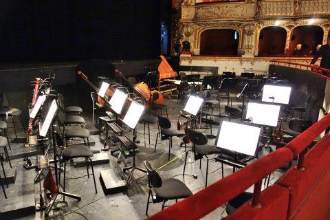 グラーツ歌劇場のオーケストラ