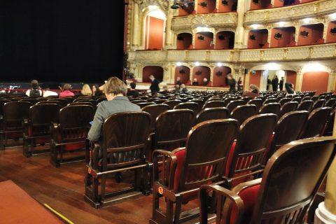グラーツ歌劇場1階席