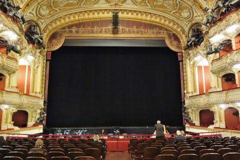グラーツ歌劇場の舞台