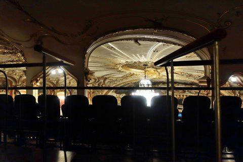 グラーツ歌劇場4階席の後ろ