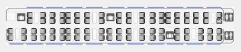 railjet座席図2等車