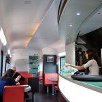 ÖBBレイルジェットの食堂車(Restaurant)で飲めるコーヒーの味!