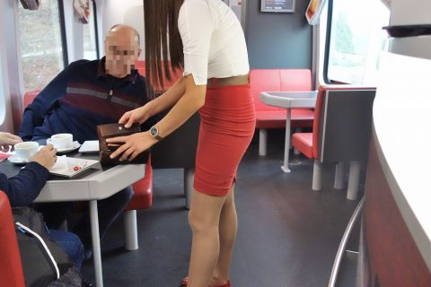 railjetレストランの注文の仕方