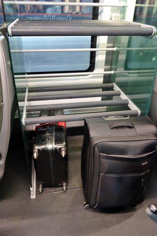railjet2等車の荷物置き場