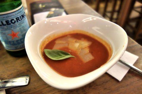 vapiano-grazトマトスープ