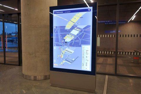 ウィーン中央駅MAP