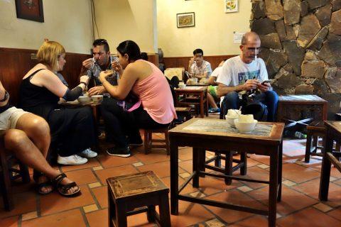 Cafe-GIANG39の客層