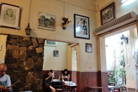 Cafe-GIANG39の装飾