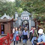 ホアンキエム湖「玉山祠」ハノイに伝わる伝説の亀を見に行く!