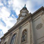 《聖ヨハン・ネポムク教会》ウィーン郊外の静かな教会へ