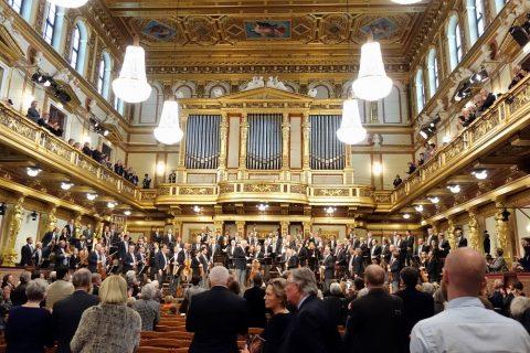 Wiener-Musikverein/黄金のホール