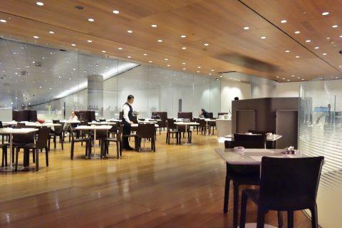 al-mourjan-business-loungeのレストランが空いている