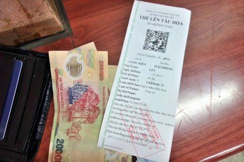 ベトナム鉄道チケット