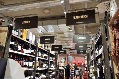 国別のワイン/ウィーン中央駅のスーパー