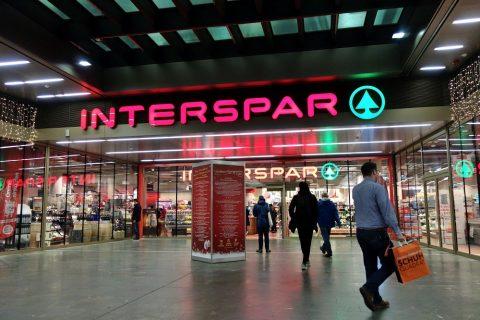 interspar-ウィーン中央駅のスーパー