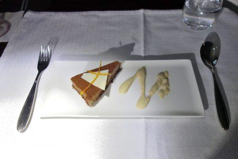 デザート/カタール航空ビジネスクラス