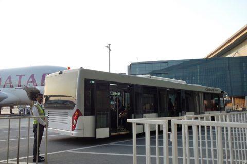 バス/カタール航空